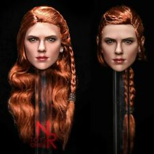 "NRTOYS 1:6 NR30 Black Widow Head Sculpt Fit 12"" Female PH TBL Figure Body"