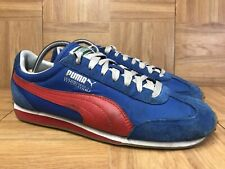 RARE🔥 Puma Whirlwind Retro Vintage Trainers Sz 7.5 Men's Royal Red 351293