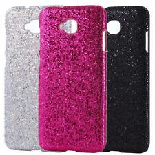 For ASUS Zenfone 4 Selfie ZD553KL Bling Sparkle PU Coated Design hard case cover