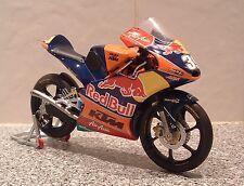 1:12 2013 RC250R KTM AJO RED BULL RACING MOTO 3 GP LUIS SALOM TOY MOTORCYCLE #39