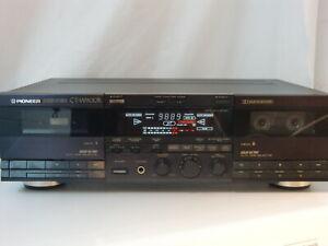 Pioneer CT-W900R Double Cassette, Tape Deck, Doppel Kassetten Recorder