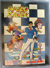 SPEED RACER 1987 NOW Comic Poster - Mounted / Framed EXCELLENT! Ken Steacy