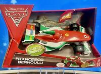 Disney Pixar~Cars 2 Lights & Sounds Francesco Bernoulli~3 Phrases,Lit Headlights