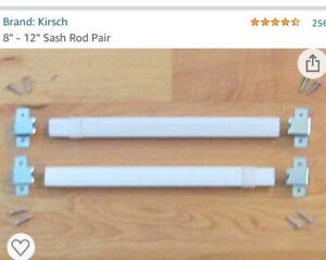 "[2 Packs] KIRSCH 8"" - 12"" Sash Rod #6410E025"