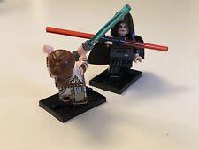 Darkside Rey vs Lightside Rey Showdown from Rise of Skywalker Lego Army Builder