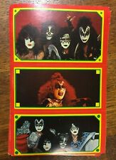 KISS band - Autocollants provenant d'Argentine / Stickers from Argentina (1980s)