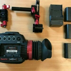Zacuto Gratical X Viewfinder Zacuto Model: Z-GRX with LPE6 batteries and charger