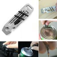 Tiny Ratchet Multi-Tool Key Chain 6 in 1 KeyChain Keyring Bottle-Opener Ruler
