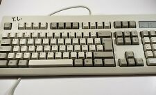 NMB Vintage French Wired Computer Keyboard 104-KEY RT102  PS/2