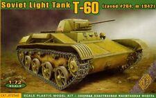 Ace 1/72 soviético T-60 Luz Tanque # 72540