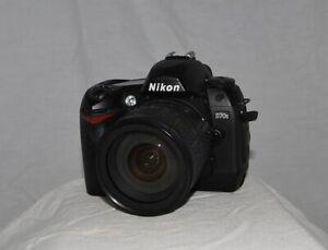 Nikon D D70s 6.1MP Digital SLR Camera - Black (Kit w/ AF-S DX 18-70mm Lens)