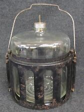 ANTIQUE KEROSENE oil stove FUEL BOTTLE JUG (AB-363)