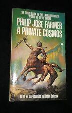 NOS PHILIP JOSE FARMER A Private Cosmos BORIS VALLEJO ZELZANY Intro Ace PB Book