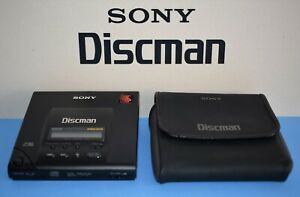 SONY D-303 - Discman + Case - Vintage Cd-player made in Japan