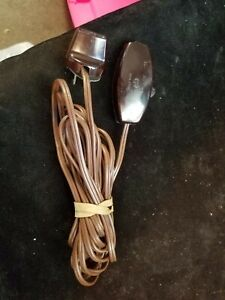 Vintage GE General Electric Extension Cord w/ Off/On Switch Approximately 15'