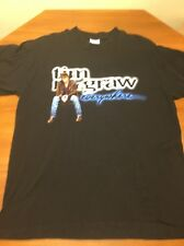 Vintage 1997 Tim McGraw Everywhere Tour Concert Tee T-Shirt Usa Xl Black