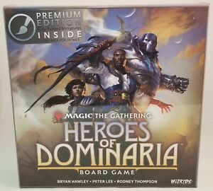 Magic The Gathering HEROES OF DOMINARIA Board Game Premium Edition ~SEALED~ MTG