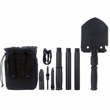 Iunio Military Portable Folding Shovel [35 inch Length] and Pickax with Tactical