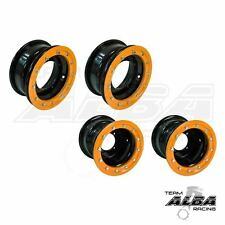 TRX 450R 400EX 300EX  Front  Rear wheels  Beadlock 10x5  9x8  Alba Racing  BO 41