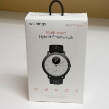 Withings/Nokia Steel HR Sport Smartwatch 40mm GPS Activity Tracker HeartRate etc