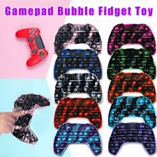 New Fidget Toy Push Bubble Sensory Stress Relief Hand Game Controller Gamepad Uk
