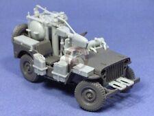 Resicast 1/35 Popski's WASP Flamethrower Jeep Conversion Set (for Tamiya) 351226