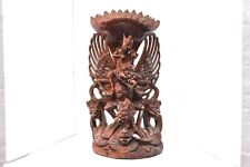 """Balinese Garuda Protector Hand Wooden Carving Sculpture Statue Figure LARGE 22"""""""
