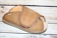 EMU Australia Brand Beige Leather Sheep Skin Slippers Size 10 NEW