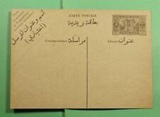 DR WHO LEBANON UNUSED POSTAL CARD f74585