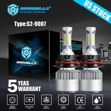 2PCS HB5 9007 CREE 1500W 225000LM LED Headlight Bulbs White 6500K Hi/Lo Beam Kit