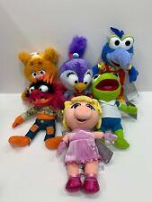 Disney Muppet Babies Plush Set - Fozzie Animal Summer Gonzo Piggy Kermit