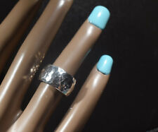 Silpada Sterling Silver Hammered Band Ring