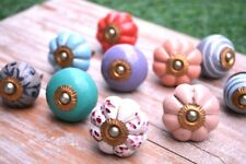 Mix-Ceramic Handles Kitchen Mix Knob Door Vintage Cupboard Pulls Drawer Knobs