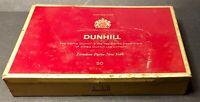 Vintage Cigarettes Tin DUNHILL (50 cigaret.), Alfred Dunhill Ltd London