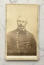 ANTIQUE CDV PHOTOGRAPH CONFEDERATE CSA GENERAL P.G.T. PIERRE BEAUREGARD ANDERSON