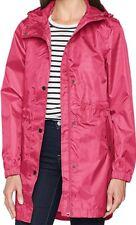 BNWT Ladies JOULES Pink WATERPROOF Mac RIGHT AS RAIN Coat Jacket SIZE 12
