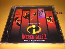THE INCREDIBLES 2 soundtrack CD score MICHAEL GIACCHINO score DISNEY pixar ost