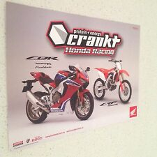 HONDA CBR  CRF MOTORCYCLE DIRT BIKE RACING POSTER,OFFICIALKAWASAKI YAMAHA FORD