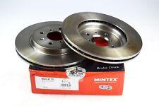 2X MINTEX FRONT DISC BRAKES MDC1756 SUZUKI SPLASH SWIFT VAUXHALL AGILA Mk II B
