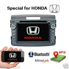 Car Dash DVD Radio Stereo GPS Navigation Bluetooth for HONDA 2012 2013+camera
