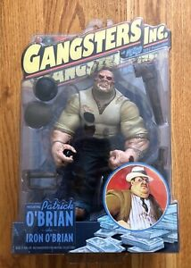 Gangster Inc: Patrick O'Brian aka Iron O'Brian Figure (Mezco) NEW