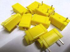 10 x Deltron 571-0700 4mm AMARILLO Pcb Conector Plátano