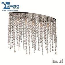 Ideal Lux Rain Clear Pl5 Lampada da soffitto Plafoniera 5 Luci