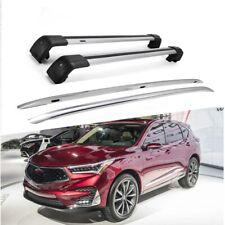 Fit for Acura RDX 2019 2020 Roof Rack Cargo Side Rails Cross Bar 4pcs Kit