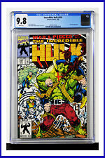 Incredible Hulk #391 CGC Graded 9.8 Marvel March 1992 White Pages Comic Book