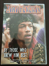 """Jimi Hendrix: By Those Who Knew Him Best"" (DVD, All Regions 0) *VGC*"