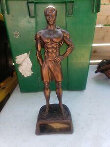 NPC Men's Physique Bodybuilding Trophy  GAY INTEREST BEEFCAKE VINTAGE RARE