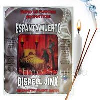 SPIRITUAL PLANT BATH: DISPEL JINX-ESPANTA MUERTO Herb Wash Bano Despojo Santeria