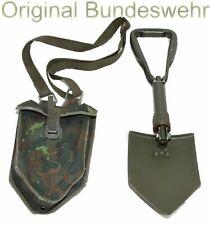Original Bundeswehr Klappspaten Feldspaten Klappschaufel + Gurt + Tasche