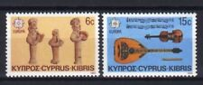 # CIPRO CYPRUS KIBRIS - 1985 - EUROPA CEPT Music Instruments - 2 Stamps Set MNH